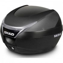 Top Case Shad Sh34 Carbon 34l + Placa Gratuit!