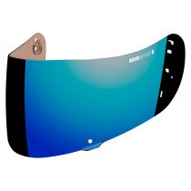 Viziera Icon Optics Pentru Airframe Pro Si Airmada, Iridium Albastru