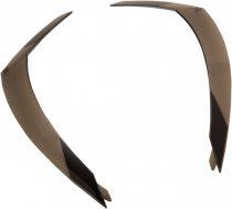 Spoiler spate casca Icon Airform - negru