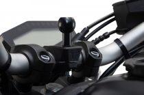 Kit Prindere Cu Brat, Bila, X-Grip Sw-Motech Pentru Smartphone-Uri Mari
