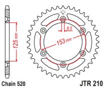 PINION SPATE SUNSTAR (JTR210-45) 111-462-45