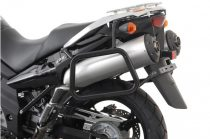 SW-MOTECH EVO SIDE CARRIER BLACK. KAWASAKI KLV1000