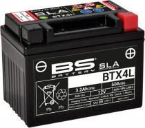 BATERIE ACUMULATOR BS BTX4L SLA 12V 4AH CCA-50A