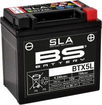 BATERIE ACUMULATOR BS BTX5L SLA 12V 4AH CCA-70A