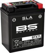 BATERIE ACUMULATOR BS BTX7L SLA 12V 6AH 100A