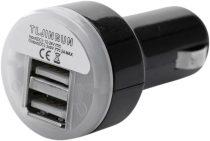 INCARCATOR USB DUBLU SW-MOTECH 12V 2A