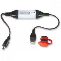 TECMATE ÎNCĂRCĂTOARE USB PROTECȚIE INTELIGENTĂ CU METEO DC2.5MM