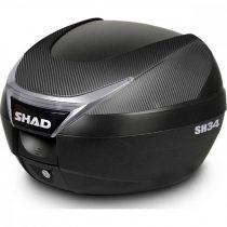 Top Case Shad Sh34 Carbon 34l + Placa Gratuit!